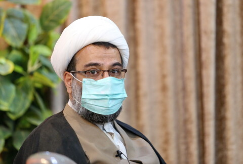 تصاویر/ بازدید معاون فرهنگی آستان مقدس حضرت معصومه(س) از رسانه رسمی حوزه