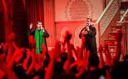 فیلم | سومین شب نوحهخوانی مداحان ایرانی در ابوالخصیب (بصره)