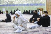 تصاویر/ عزاداری عرب زبانان در سوگ امام سجاد(ع) در حرم حضرت معصومه(س)