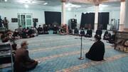 حضور صمیمی امام جمعه اهواز در جمع دانشجویان + عکس