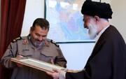 بيان تعزية الإمام الخامنئي عقب رحيل اللواء فيروز آبادي