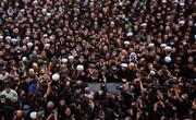 تصاویر/ تشییع و اقامه نماز بر پیکر مرحوم آیت الله العظمی حکیم در کربلا