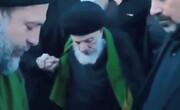 فیلم   مرحوم آیتالله العظمی سید محمد سعید حکیم در پیادهروی اربعین