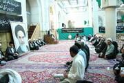تصاویر آرشیوی از مراسم بزرگداشت مرحوم آیت الله بنی فضل در مسجد اعظم قم شهریور ۱۳۸۶