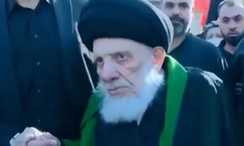 اربعین مارچ ویڈیو:حضرت آیۃ اللہ العظمیٰ سید محمد سعید طباطبائی حکیم رضوان اللہ تعالی علیہ
