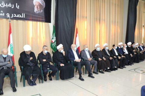 مراسم بزرگداشت آیت الله قبلان با حضور شخصیت های لبنانی