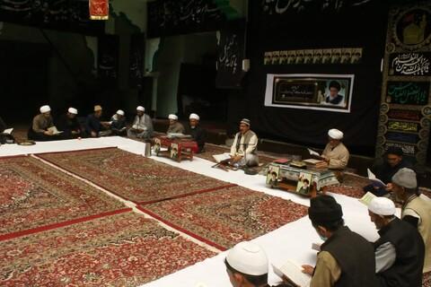 جمعیت العلماء اثنا عشریہ کرگل کے زیر اہتمام آیت اللہ العظمی حکیم کے ایصال ثواب کیلئے مجلس ترحیم و فاتحہ خوانی