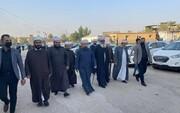 حضور علمای اهل سنت در مراسم ختم آیت الله حکیم  + تصاویر