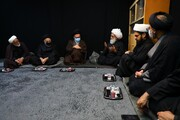 تصاویری از دیدارها و برنامههای هیئت اعزامی حوزه علمیه قم به نجف اشرف
