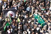 مراسم تشییع و تدفین آیت الله قبلان در لبنان برگزار شد+ تصاویر