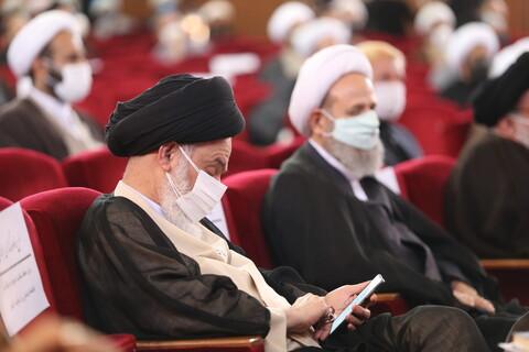 تصاویر/ آیین آغاز سال تحصیلی حوزه های علمیه/ آیت الله حسینی بوشهری