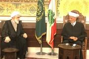 دیدار حجتالاسلام والمسلمین اختری با مفتی لبنان