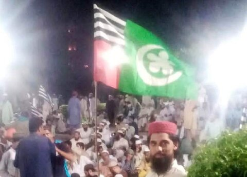 کالعدم سپاہ صحابہ کے جھنڈے