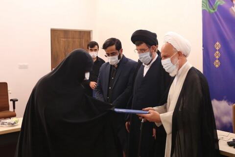 تصاویر/ آیین افتتاحیه سال تحصیلی جدید حوزه علمیه مشکوه