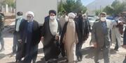 بازدید امام جمعه شیراز از شهر زلزله زده سی سخت