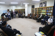 تصاویر / دیدار وزیر فرهنگ و ارشاد اسلامی با آیت الله اعرافی