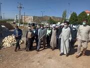 ائمه جمعه شیراز و یاسوج در میان زلزلهزدگان سیسخت / طلاب جهادی در خدمت رسانی به زلزله زدگان سنگ تمام گذاشتند