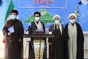 تصاویر / آئین تکریم و معارفه امام جمعه شهرستان کلیبر