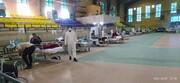 خدمت رسانی طلاب جهادی قزوین به بیماران کرونایی ادامه می یابد