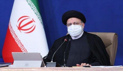 الرئيس الايراني ابراهيم رئيسي