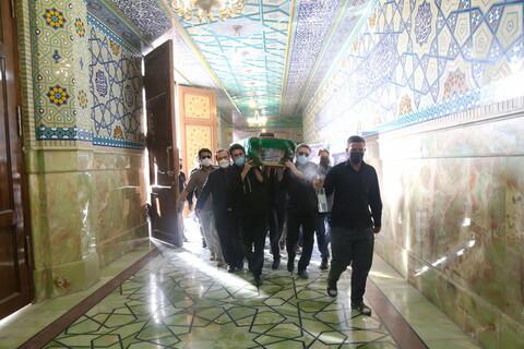 تصاویر / مراسم تشییع پیکر آیت الله سید محمد حسینی کاهانی در قم