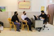 طلاب مدرسه علمیه علی بن موسی الرضا(ع) یاسوج واکسینه شدند
