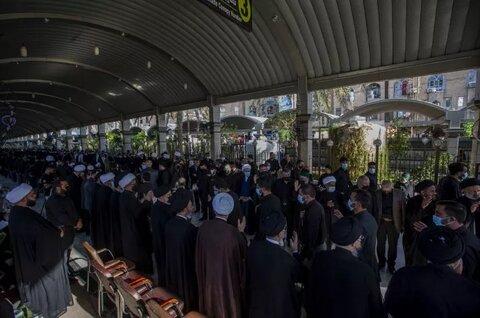 العتبتان الحسينية والعباسية تقيمان مجلس عزاء على روح المرجع الديني السيد محمد سعيد الحكيم