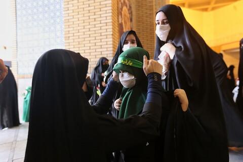 تصاویر/ مراسم سوگواری ریحانه الحسین(ع) در حرم حضرت معصومه(س)
