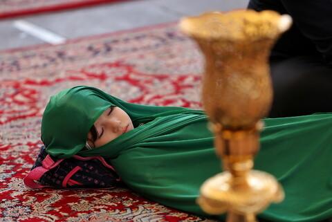 تصاویر/ مراسم سوگواره ریحانه الحسین(ع) در حرم حضرت معصومه(س)