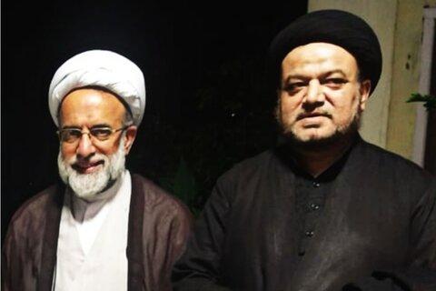 نمائندہ ولی فقیہ ہند سے مولانا رضا حسین کی ملاقات
