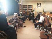 مجمع طلاب شاهد و ایثارگر حوزه علمیه اصفهان برگزار شد