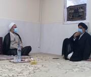 دیدار رئیس سازمان بازرسی کل کشور با نماینده ولیفقیه در خوزستان