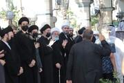 بالصور/ اقامة مجلس عزاء على روح آية الله السيد محمد سعيد الحكيم في كربلاء المقدسة