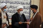 «هاشمی» مدیر حوزه علمیه خواهران چهارمحال و بختیاری شد + عکس