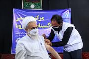 امام جمعه قزوین دوز دوم واکسن برکت را دریافت کرد