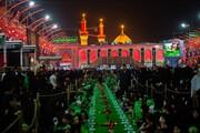 تصاویر/ بزرگترین سفره حضرت رقیه (س) در بین الحرمین کربلا