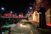بالصور/ أكبر سفرةٍ عزائيّة باسم السيّدة رقيّة (عليها السلام) في كربلاء
