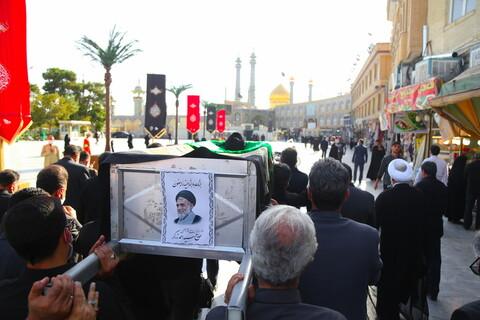 تصاویر / مراسم تشییع پیکر حجت الاسلام والمسلمین سید احمد زرگر
