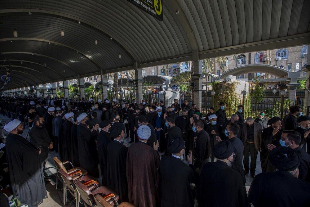 تصاویر/ مراسم بزرگداشت آیت الله العظمی حکیم در کربلای معلی