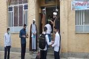 تصاویر/ دوره میثاق طلبگی شهرستانهای شرق کرمانشاه