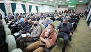 مرقد الامام الحسين (ع) يشهد فعاليات المؤتمر العلمي الخامس الخاص بزيارة الاربعين