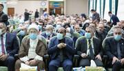 بالصور/ المؤتمر العلمي الخامس الخاص بزيارة الاربعين داخل مرقد الإمام الحسين (ع)