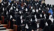 महिलाएं विश्वविद्यालयों में अपनी शिक्षा जारी रख सकती हैं, लेकिन कक्षा में लिंग विभाजन और इस्लामी पोशाक अनिवार्य होगी