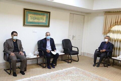 آیت الله علماء، در دیدار رئیس دیوان محاسبات استان کرمانشاه