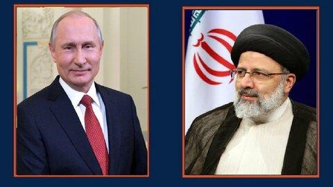 رؤسای جمهور ایران و روسیه