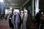فیلم| حضور امام جمعه قزوین در حسینیه آقا سید جمال و دریافت دوز دوم واکسن برکت