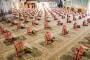 تصاویر/ توزیع ۸۰۰ بسته معیشتی توسط بسیج طلاب و روحانیون سپاه صاحب الزمان(عج) اصفهان