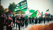 بالصور/ انطلاق مسيرة زيارة الأربعين