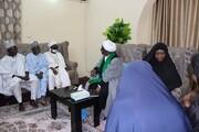 इस्लामिक मूवमेंट ऑफ नाइजीरिया के नेता शेख इब्राहिम ज़कज़ाकी ने अपने करीबी सहयोगियों से मुलाकात की + तस्वीरें