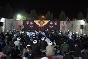 تصاویر / مراسم روضه در مدرسه علمیه قرآنی امام حسین(ع) همدان